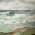 Wasser • 2012 • Acryl auf Leinwand • 100 x 80