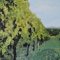 Weingarten • 2012 • Öl auf Leinwand • 100 x 100