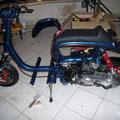 Lambretta Automatic im Aufbau!