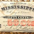 Mississippi 50 centavos 1864