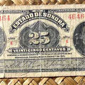 Mejico Estado de Sonora 25 centavos 1915 anverso