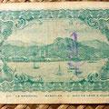 Mejico Tesoreria de la Federación -Guaymas 10 centavos 1913 reverso