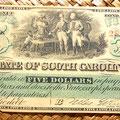 Carolina del Sur 5 dólares 1872