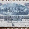 Estados Confederados de América 10 dolar 1864