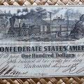 Estados Confederados de América 100 dolar 1862