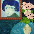 Le regard, 2013 – Acryl auf Leinwand, 40x40 cm
