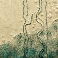 Broken String, 2010 – Acryl auf Leinwand, 52x52 cm
