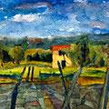 Provence, 2002 – Aquarell auf Papier, 30x20 cm