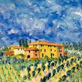 Il cielo blu, 2007  – Aquarell auf Papier, 25x25cm
