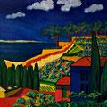 La villa, 2007 – Öl auf Leinwand, 70x70 cm