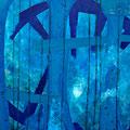Big Blue 2, 2010 – Acryl auf Leinwand, 100x100 cm