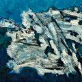 Blue, 2010  – Acryl auf Leinwand, 55x55 cm