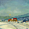 Wintertag, 2013/14 – Öl auf Leinwand, 50x50 cm
