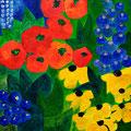 Sommer, 2004 – Acryl auf Pavatex, 50x50 cm