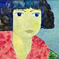 Ilona, oD – Acryl auf Leinwand, 40x40 cm