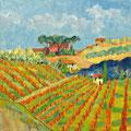 Toscana 1, 2014 – Öl auf Leinwand, 40x40cm