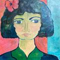 Roswitha, undatiert – Acryl auf Leinwand, 40x40cm