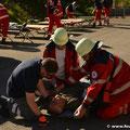 Behandlung eines Verletzten