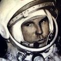 """Gagarin"" Oleo sobre tela 150cm X 200cm"