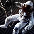 """Space walk"" Oleo sobre tela 170cm X 150cm"