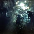"""""""Bajo el agua"""" Oleo sobre tela 90cm X 65cm"""