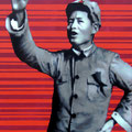 """""""Young Mao"""" Acrilico sobre tela 100cm X 135cm"""