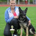 LGA 2012 - Jana mit Shari