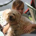 Lisa mit ihrer Daphne