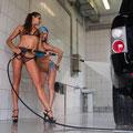 Autowäsche gratis für Damen