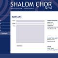 Webauftritt Shalom-Chor Berlin