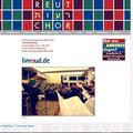 Gestaltung und Fotos www.re-ut-chor.de