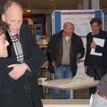 (1. v. li.) Tobias Mißfeld; (2. v. li.)Titus Heldt; (2. v. li.) Michael Rosenthal, (hinten 1. v. li.) Prof. Heiner Lippe;