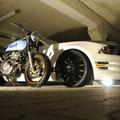 Honda XR600 R Old Skool Racer Umbau