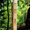 Torre,legno, cm 270 x 45 x 45, Casentino