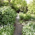 Pflasterungen im Garten
