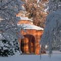 Il lazzaretto sotto la neve
