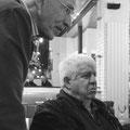 Serge Deleu et Guy Le Querrec © Charlie Abad