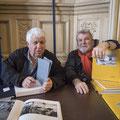Guy Le Querrec et Charlie Abad en couleur © Jacques Sierpinski
