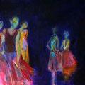 Unter Beobachtung - 50x70 cm -Acryl auf Leinwand