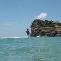 圭子さん水中から撮ってもらいました。