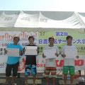メンクラス右から 優勝・前鶴大亨 2位・脇薗僚人 3位・長坂佳伸 4位・柏原一博