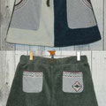 RX ボアスカート 7,350yen 上のJKTとお揃い!冬には欠かせない暖かアイテムです。