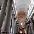 Arras, cathédrale, nef vue de l'entrée /JH