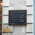 Maison de Robespierre, plaque commémorative / Photo LA