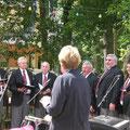Besuch des afrik.Chors aus Worcester
