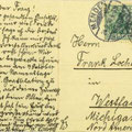 Postkarte vom 24.9.1910