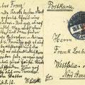 Postkarte vom 26.8.1910