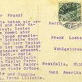 Postkarte vom 31.3.1911