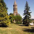 Parc et église