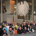 Schnell noch ein Gruppenbild im Plenarsaal